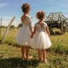 robe cérémonie zoé blanche